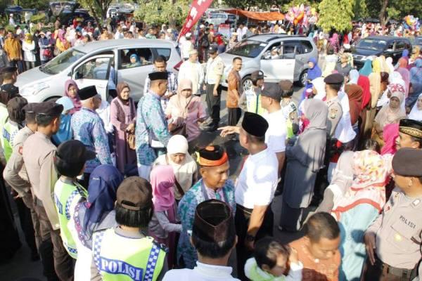 Berita foto video sinar ngawi terkini:Mendadak sakit,  Satu Calon Jemaah Haji Asal Ngawi Batal Berangkat