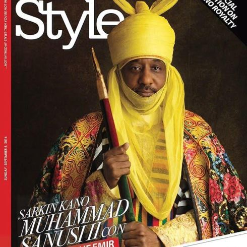 Emir Of Kano Covers Latest Edition Of ThisDay Style