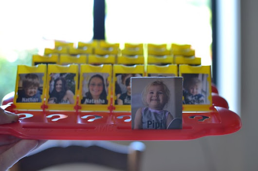 Handmade Christmas: Personalised 'Guess Who' Game