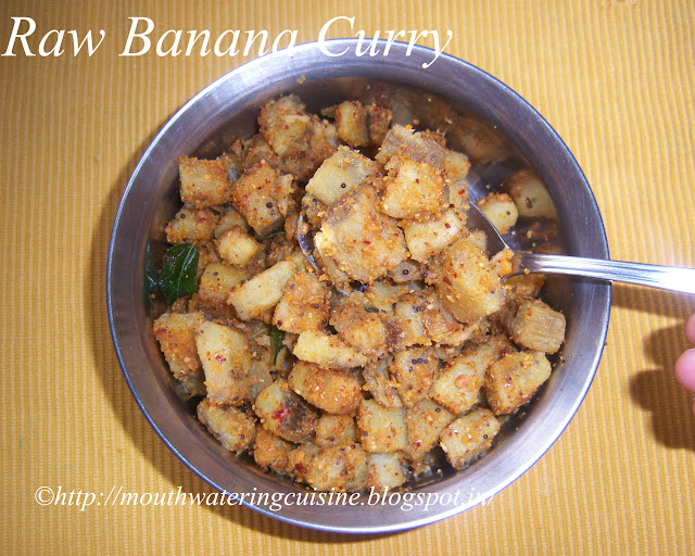 Raw Banana Curry