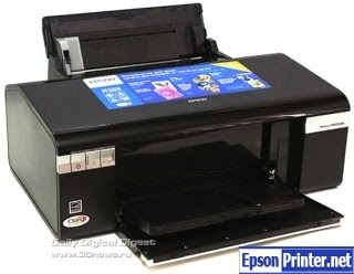 How to reset Epson R295 printer