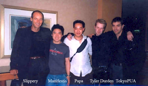 Pick Up Artists Slippery Manifestis Papa Tyler Durden Tokio Pua, Slippery