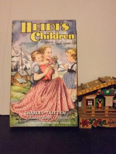 Heidi book from All Our Yesterdays.