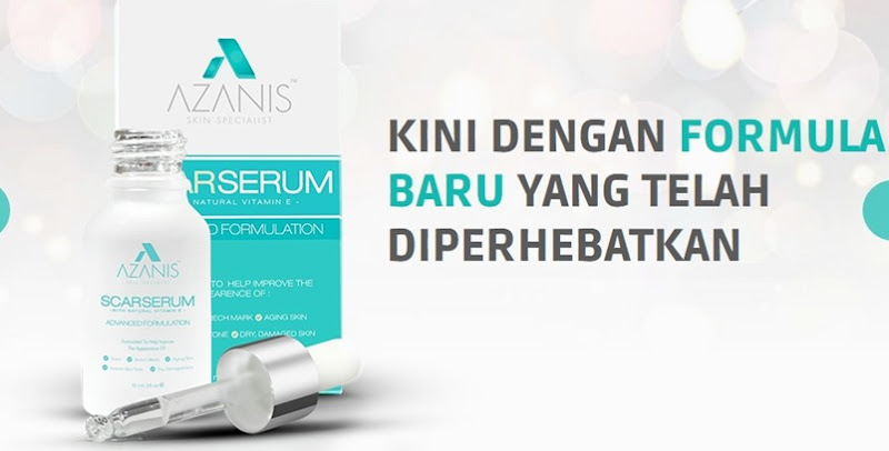 azanis scar serum harga baru