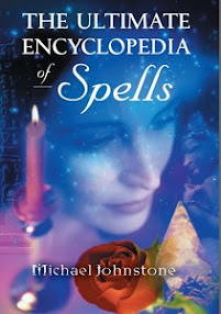 Cover of Michael Johnstone's Book The Ultimate Encyclopedia Of Spells