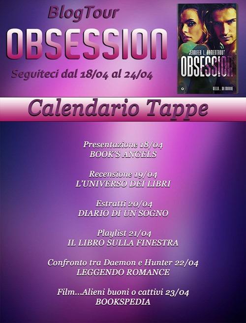 Obsession calendario