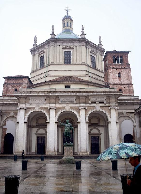 94. The Basilica of San Lorenzo Maggiore. IV Century. Milan. 2013