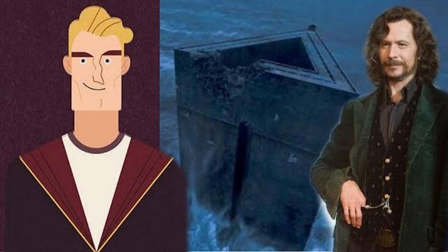 O profeta diário reportava que Sirius Black estava escondido em Londres | Estúrgio Podmore foi preso em Azkaban