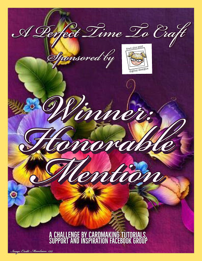 I Got an Honorable Mention