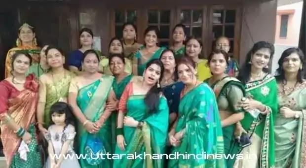 Dehradun News: जिनवाणी जागृति मंच के तीज त्यौहार में प्रशाली और सुप्रिया रही विजेता