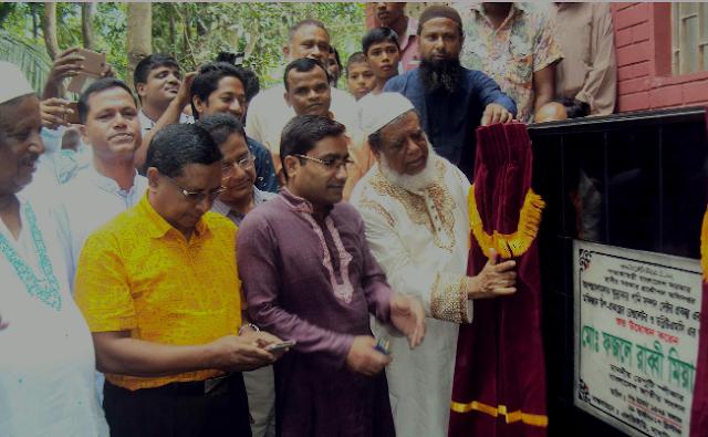 গাইবান্ধার সাঘাটায় ৩ মুক্তিযোদ্ধার পাকাবাড়ী নির্মাণের ভিত্তি প্রস্তর স্থাপন করেন- ডেপুটি স্পীকার
