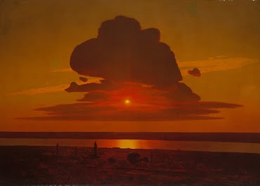 Red Sunset on the Dnieper -  Arkhip Ivanovich Kuindzhi