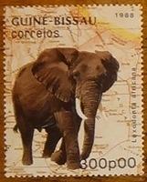 timbre Guinée Bissau 001