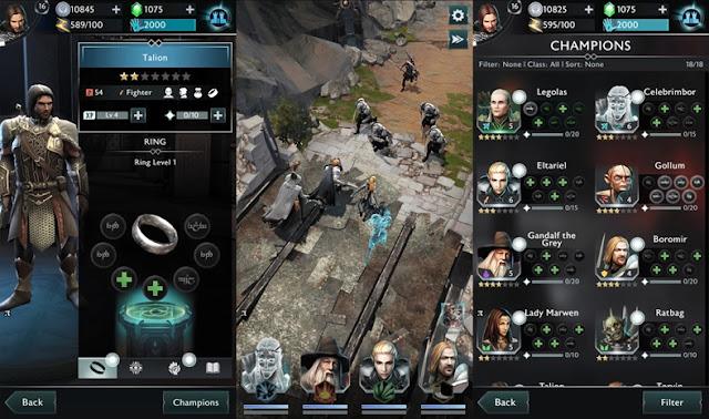 Middle Earth Shadow of War Ios İçin Yayınlandı