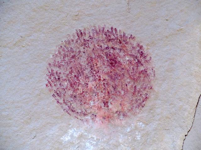 Circle made of handprints