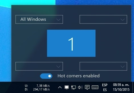 WinXCorners — Hot Corners for Windows 10 | codigobit apps