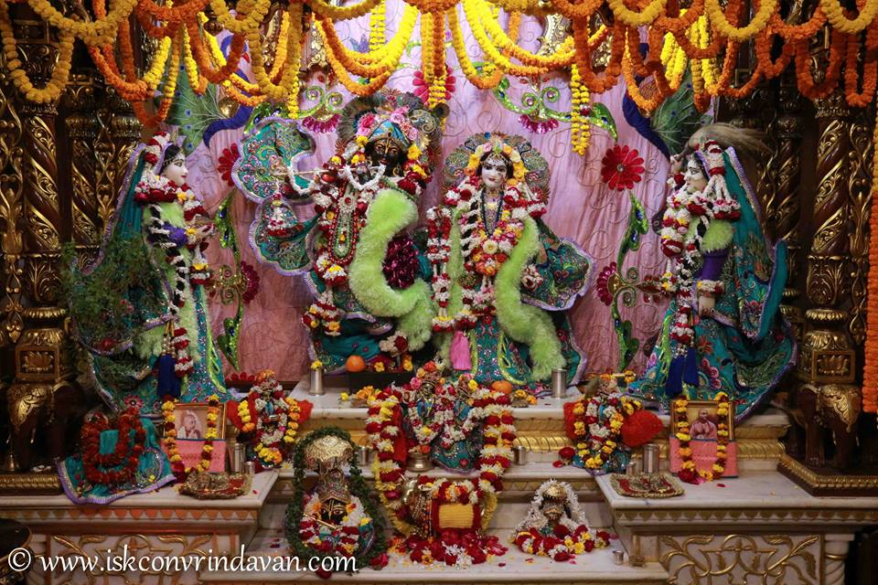 ISKCON Vrindavan Sringar Deity Darshan 15 Jan 2016  (10)