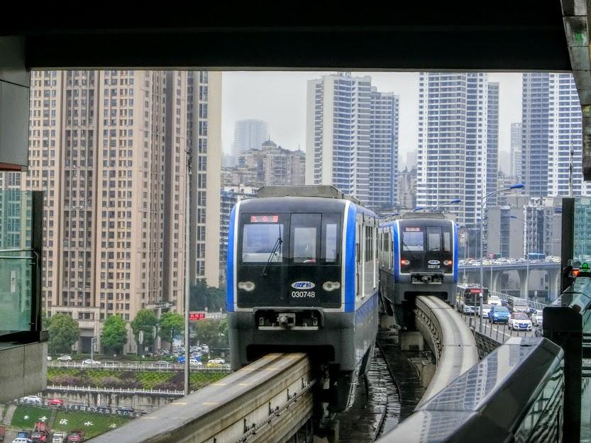 重慶モノレール号3号線