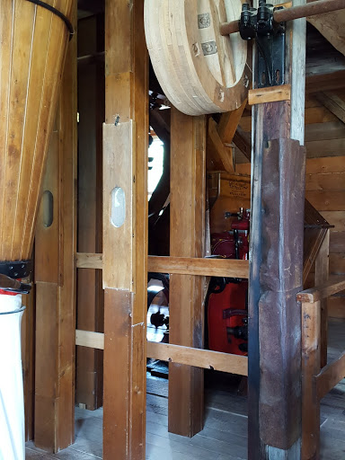 Grist mill at the Acadian Historical Village, New Brunswick