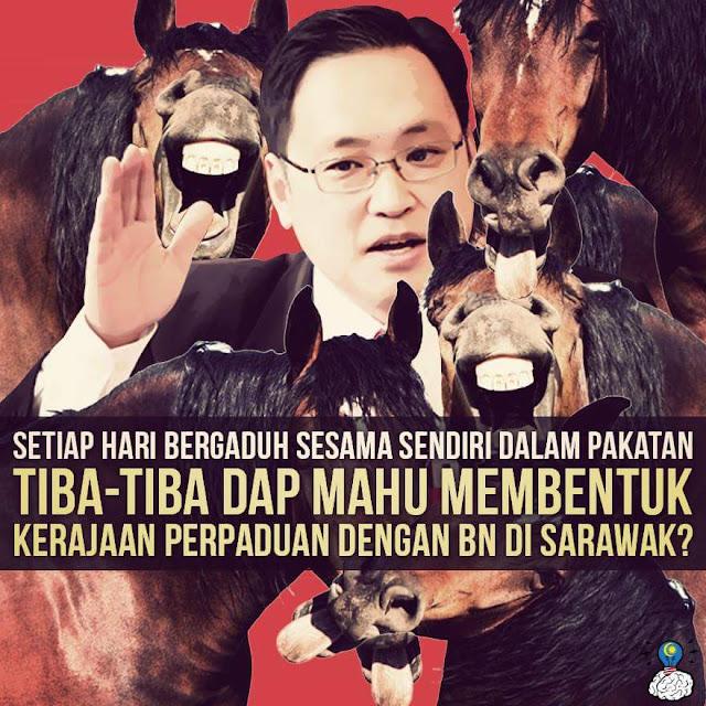 DAP Nak Bergabung Dengan BN Dalam Pr Sarawak? Wow!