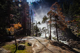 Mist Trail - Heading towards Nevada Falls