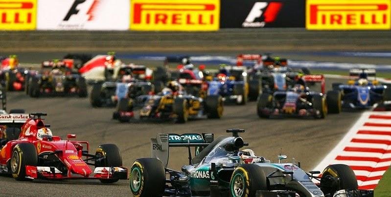 Bottas lets Hamilton through into second!