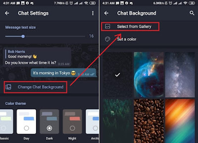 Cara Mengganti Background Wallpaper Telegram