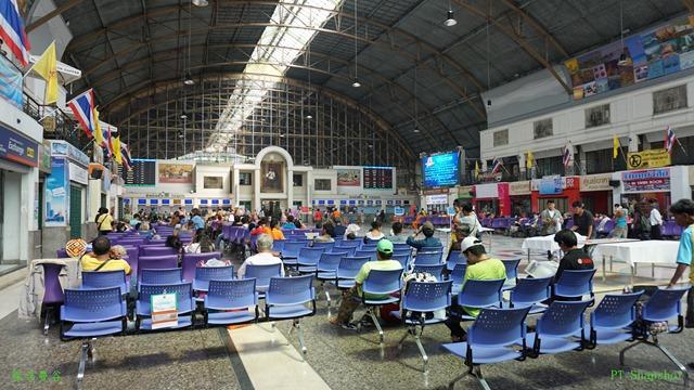 华南蓬(HuaLamphong)火车站