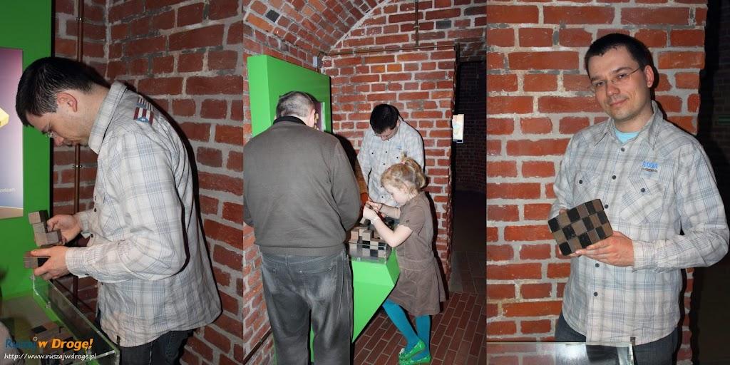 Gdańskie Centrum Nauki Hewelianum: ułóż kostkę