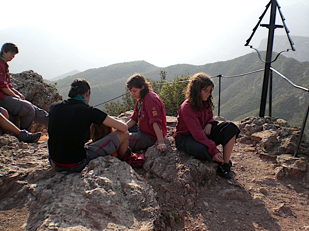 Sortida Sant Salvador de les espasses 2006 - CIMG8280.JPG