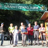 Soteska Krnice-Garnitzenklamm v Karnijskih Alpah