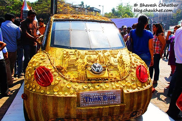 Kala Ghoda - Volkswagen Beetle made from scrap
