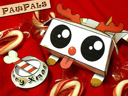PawPals Christmas Paper Toy