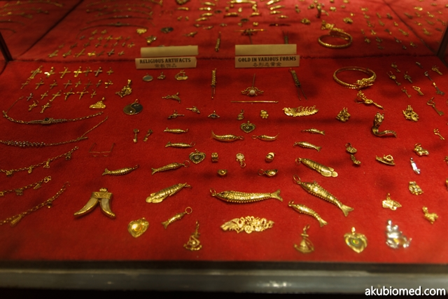Koleksi emas berkaitan emas dan koleksi emas pelbagai bentuk