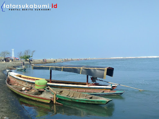 Pasir Keusik Urug, Tempat Wisata Selatan Sukabumi di Muara Cikaso