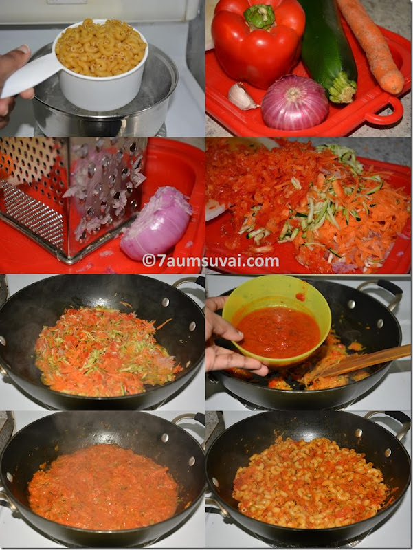 3 vegetable pasta