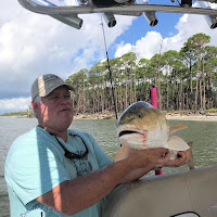Tim and the Face of his Redfish 09-28-2018