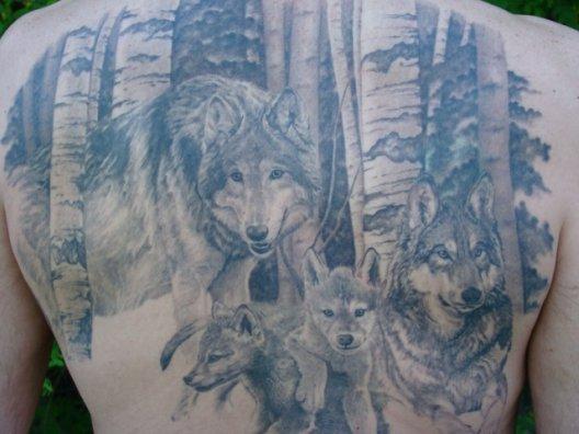 Jason's Wolves in progress
