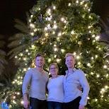 Lincoln Road christmas in Miami, Florida, United States