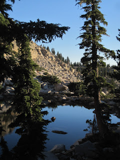 The water was like glass  ©http://backpackthesierra.com
