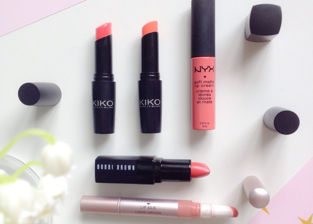 Summer Lip Wear - Kiko, Nyx, Bobbi Brown, Laura Geller