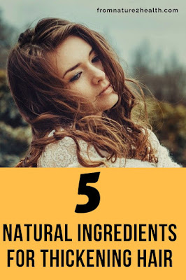 Aloe Vera for Thickening Hair, Coconut Oil for Thickening Hair, Olive Oil for Thickening Hair, Egg for Thickening Hair, Lemon for Thickening Hair, Shallots for Thickening Hair