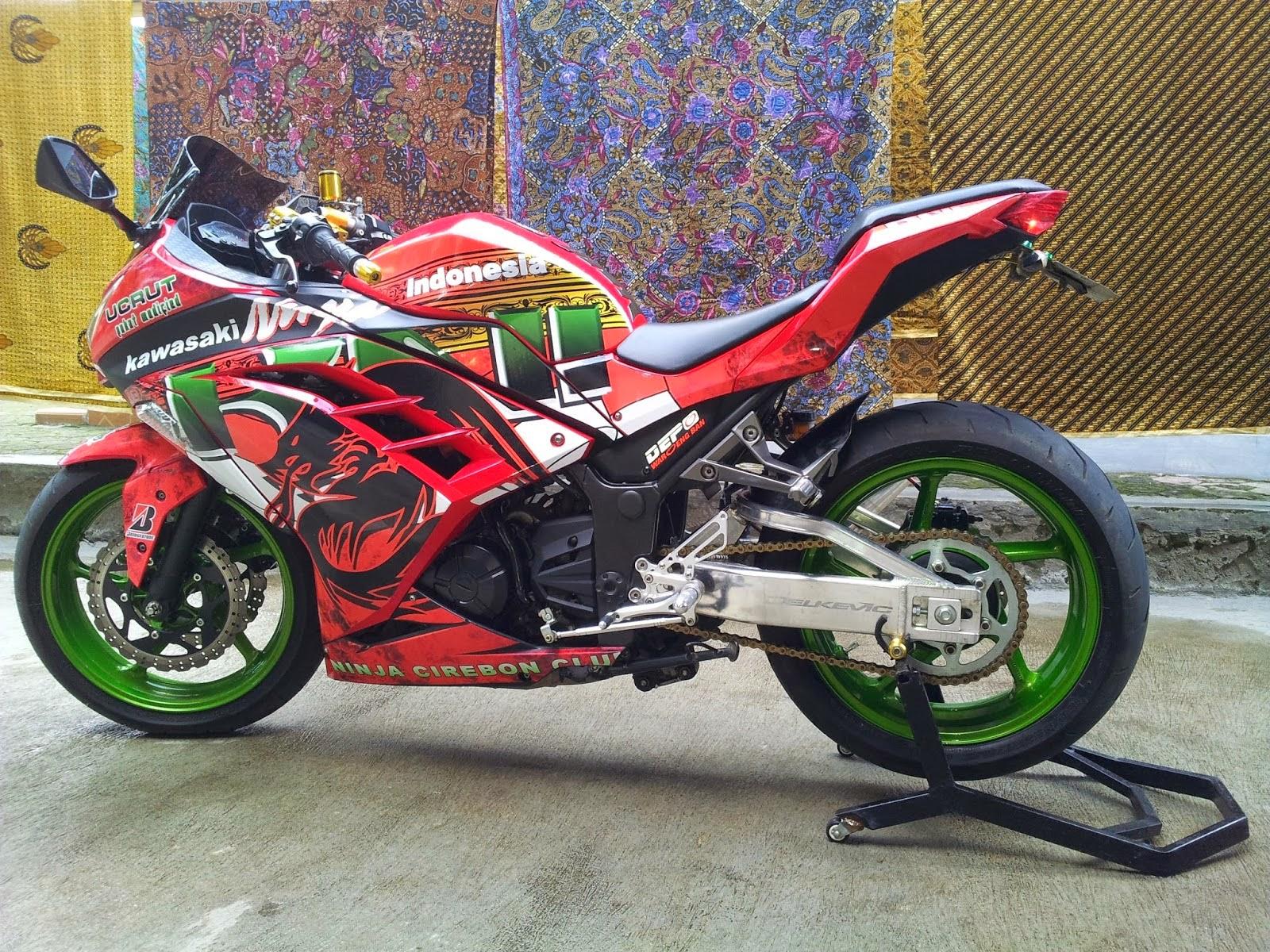 Modifikasi Ninja 250 Fi Moto Gp