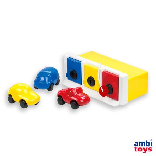 Contenido de Ambi® Toys Lock Up Garaje