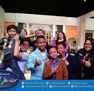 siapa yang tereliminasi di kontestan top 15 indonesian idol junior 2016
