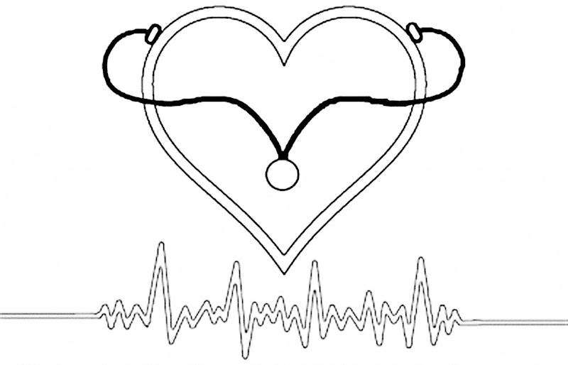 Images World Heart day coloring pages