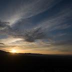Levé de soleil à Santa Eulalia la Mayor