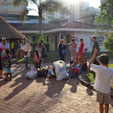 Skolans elever åker till Kongolete, juni 2014
