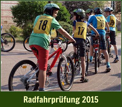 Radfahrprüfung 2015