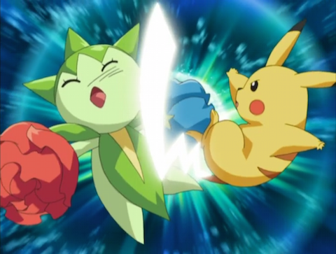 pikachu vs roselia